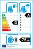 etichetta europea dei pneumatici per Continental Crosscontact Uhp 295 35 21 107 Y FR MO XL ZR