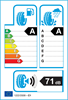 etichetta europea dei pneumatici per Continental Ecocontact 5 235 60 18 107 V DEMO XL