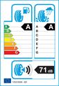 etichetta europea dei pneumatici per Continental VANCOCONTACT 215 60 17