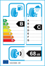 etichetta europea dei pneumatici per Cooper Cs7 175 65 14 86 T XL