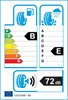 etichetta europea dei pneumatici per Cooper Evolution Van 185 75 16 104 R