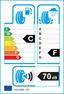 etichetta europea dei pneumatici per cooper Weathermaster Ice 600 225 60 17 99 T 3PMSF
