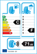 etichetta europea dei pneumatici per cooper Weathermaster Ice 600 235 55 17 99 T 3PMSF