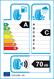 etichetta europea dei pneumatici per cooper Zeon Cs8 225 45 17 94 Y XL