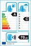 etichetta europea dei pneumatici per Cooper Zeon Cs8 225 50 17 98 Y XL