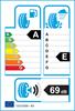 etichetta europea dei pneumatici per Cooper Zeon Cs8 225 45 17 91 Y
