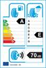 etichetta europea dei pneumatici per Cooper Zeon Cs8 225 40 18 92 Y XL