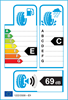 etichetta europea dei pneumatici per Davanti Dx240 165 65 13 77 T M+S