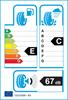 etichetta europea dei pneumatici per Davanti Dx390 165 60 14 75 H M+S