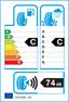 etichetta europea dei pneumatici per Delinte Wd1 225 45 17 94 V XL