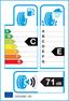etichetta europea dei pneumatici per Dunlop Grandtrek At 20 245 70 17 110 S DEMO M+S