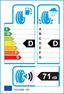 etichetta europea dei pneumatici per Dunlop Grandtrek Touring A/S 225 70 16 103 H M+S
