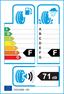 etichetta europea dei pneumatici per Dunlop Sp Lt-60 205 65 15 102 T C M+S