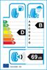 etichetta europea dei pneumatici per Dunlop Sp Sport 01 225 50 17 98 Y AO FR XL