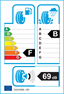 etichetta europea dei pneumatici per dunlop Sp Sport 9000 285 50 18 109 W MFS