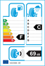 etichetta europea dei pneumatici per dunlop Sp Sport 9000 265 40 18 97 Y MFS