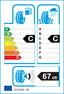 etichetta europea dei pneumatici per dunlop Sp Winter Response 2 185 65 15 88 T 3PMSF M+S