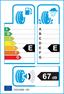 etichetta europea dei pneumatici per Dunlop Sp Winter Response 165 70 13 79 T