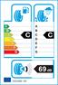etichetta europea dei pneumatici per dunlop Sp Winter Sport 3D 265 50 19 110 V N0 XL