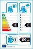 etichetta europea dei pneumatici per Dunlop Sp Winter Sport 3D 225 50 18 99 H 3PMSF M+S XL