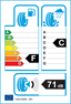 etichetta europea dei pneumatici per Dunlop Sp Winter Sport 3D 225 55 16 95 H