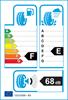 etichetta europea dei pneumatici per Dunlop Sp Winter Sport 3D 245 40 18 97 V 3PMSF M+S XL
