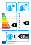 etichetta europea dei pneumatici per Dunlop Sp Winter Sport 3D 205 50 17 93 H