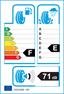 etichetta europea dei pneumatici per Dunlop Sp Winter Sport 3D 215 40 17 87 V AO