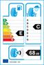 etichetta europea dei pneumatici per dunlop Sp Winter Sport 4D 205 50 17 93 V 3PMSF M+S XL