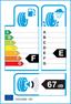 etichetta europea dei pneumatici per Dunlop Sp Winter Sport 4D 195 55 16 87 T MFS MO