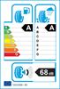 etichetta europea dei pneumatici per Dunlop Sport Bluresponse 225 60 16 102 W XL
