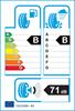 etichetta europea dei pneumatici per dunlop Sport Bluresponse 205 55 16 91 V
