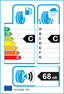 etichetta europea dei pneumatici per dunlop Sport Classic 185 70 14 88 H