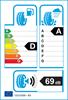 etichetta europea dei pneumatici per Dunlop Sport Maxx Rt 225 45 17 91 Y AO2 FR
