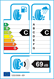 etichetta europea dei pneumatici per Duraturn Mozzo Sport 205 50 17 93 W XL