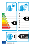 etichetta europea dei pneumatici per Esa-tecar Super Grip 9 165 65 14 79 T