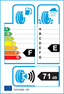 etichetta europea dei pneumatici per event tyre Ml698+ 215 70 16 100 T