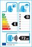 etichetta europea dei pneumatici per evergreen Ev516 165 70 14 89 T 6PR