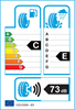 etichetta europea dei pneumatici per evergreen Ew62 195 45 16 84 H 3PMSF M+S XL