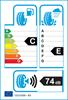 etichetta europea dei pneumatici per evergreen Ew66 225 40 18 92 H 3PMSF M+S XL