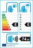 etichetta europea dei pneumatici per Evergreen Ew66 205 50 17 89 H 3PMSF M+S