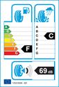 etichetta europea dei pneumatici per Falken EUROALL SEASON AS200 225 40 18