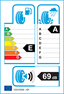 etichetta europea dei pneumatici per Falken Azenis Fk510 205 50 17 93 Y FR XL