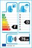 etichetta europea dei pneumatici per Falken Bi-867 225 75 175 127 M