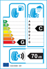 etichetta europea dei pneumatici per Falken Hs435 145 70 13 71 T 3PMSF M+S
