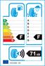 etichetta europea dei pneumatici per falken La/At T-110 195 80 15 96 H BMW M+S