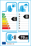 etichetta europea dei pneumatici per Falken Ze 310 Ziex Ecorun 225 55 16 99 W XL