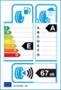 etichetta europea dei pneumatici per Falken Ze 310 Ziex Ecorun 205 50 16 87 W