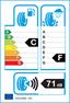 etichetta europea dei pneumatici per federal Hi-Suv 225 65 17 102 T