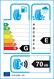 etichetta europea dei pneumatici per federal Himalaya Iceo 215 65 16 98 Q 3PMSF BSW M+S